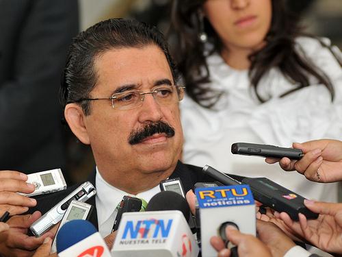 Ousted Former Honduran President Manuel Zelaya.