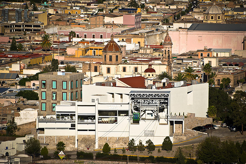 The Mexican city of Durango.
