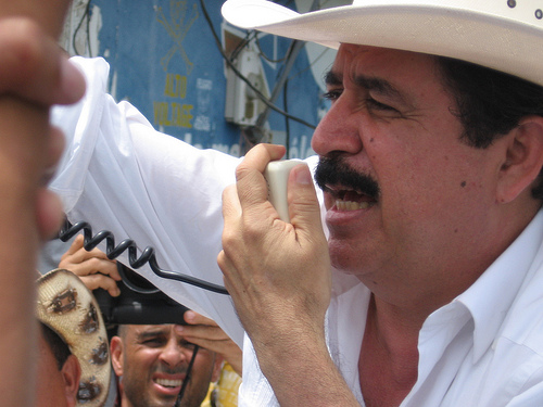 Ousted President of Honduras Manuel Zelaya.