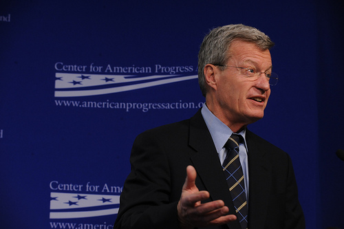 U.S. Senator Max Baucus. Photo by Center for American Progress.