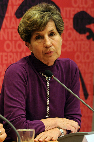 Senator Isabel Allende. Photo by Socialdemokrater.