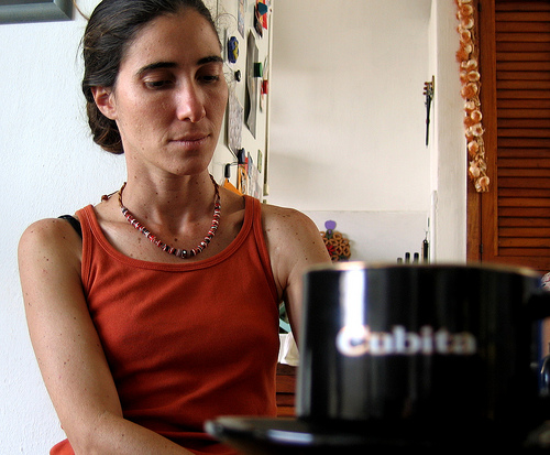 Cuban blogger Yoani Sánchez. Photo by