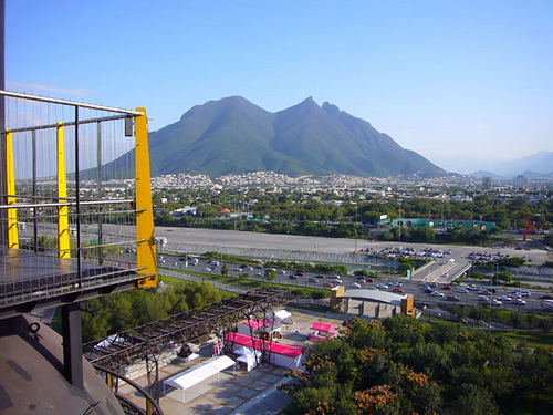 The city of Monterrey, Mexico.