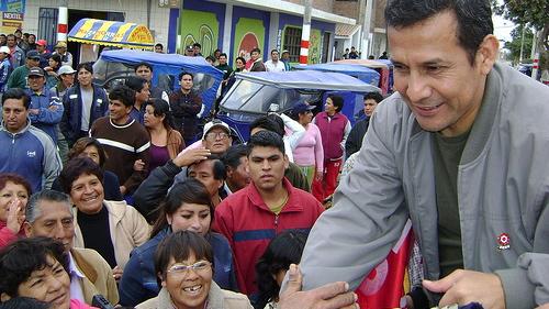 Peruvian President-Elect Ollanta Humala. Image courtesy of the Partido Nacionalista Peruano.