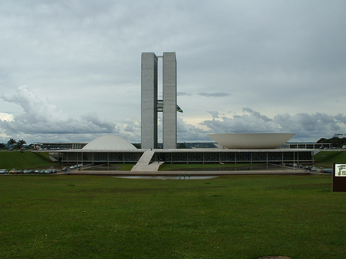 National Congress Building in Brasilia. Photo by BKM_BR.