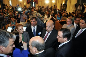 A special session of the OAS General Assembly voted to reinstate Honduras on Wednesday.