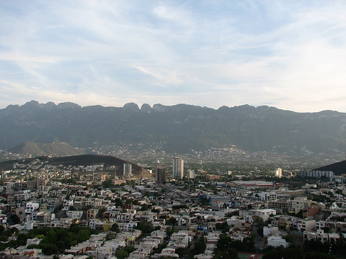 A view of Monterrey, Mexico.