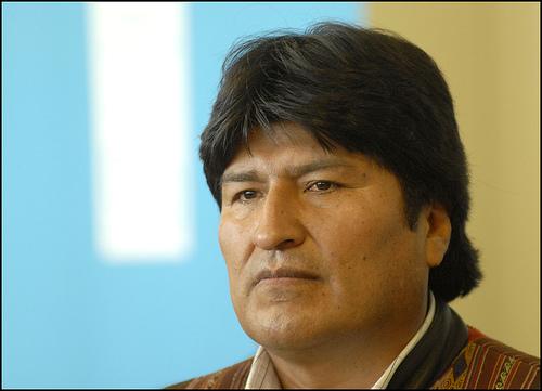 Bolivian President Evo Morales.