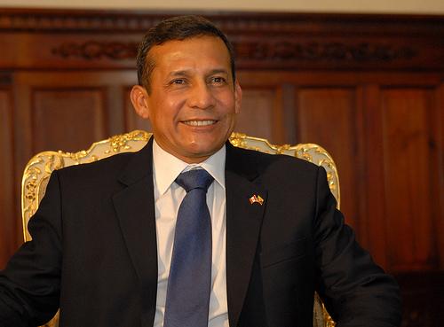 Peruvian President-elect Ollanta Humala.