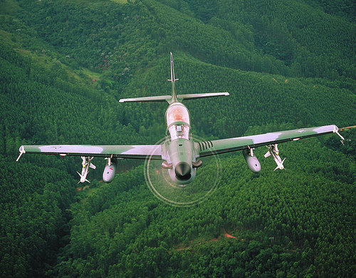 Honduras purchased four Super Tucano planes from Brazil.