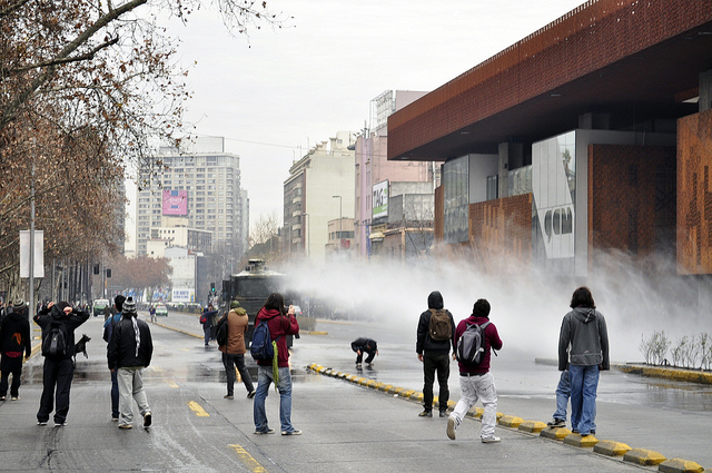 Chile-student-protests