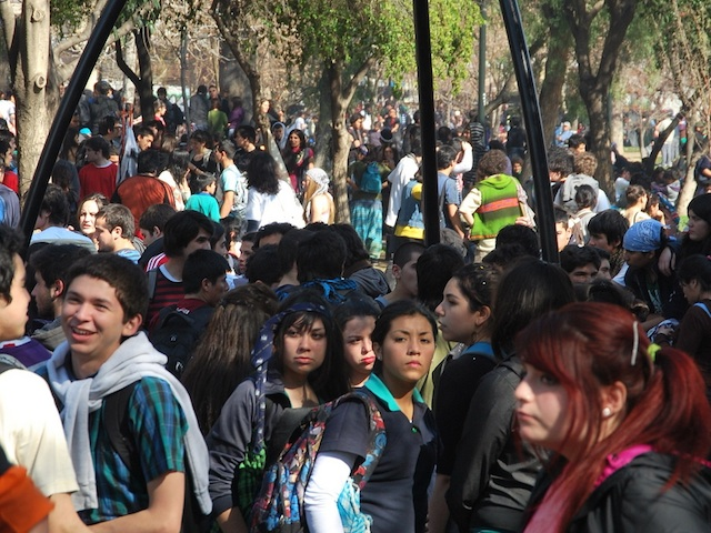 Chile-students