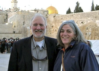 U.S. contractor Alan Gross and his wife Judy in a family picture taken in 2005.