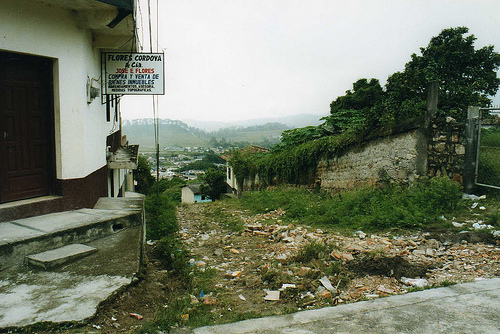 A view of the Santa Rosa Department in Guatemala.