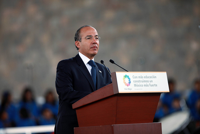 Mexico-Felipe-Calderon-Drug-War-Announcement