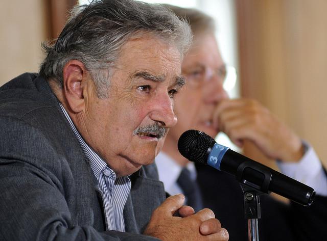 RUEDA DE PRENSA JOSÉ MUJICA NUEVO PRESIDENTE DE URUGUAY