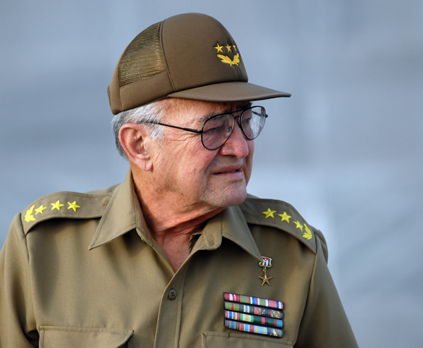 Cuban Defense Minister Julio Casas, who died on Sept. 3.