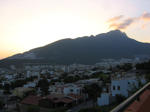 A view of Monterrey, Mexico.