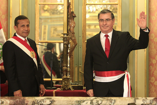 Humala-replaces-cabinet-members