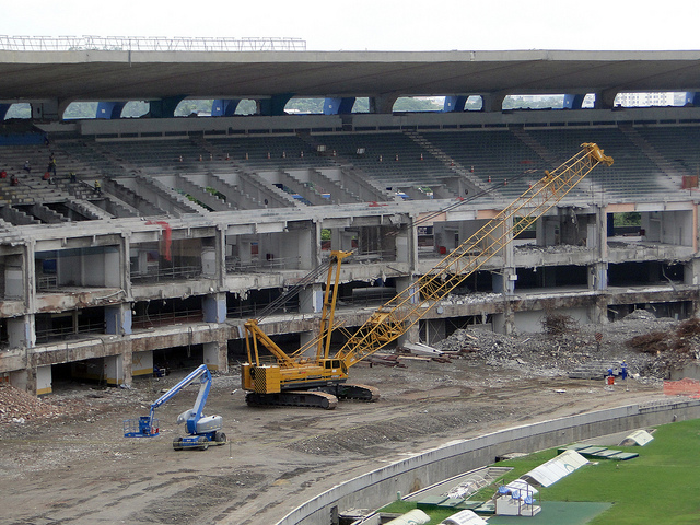 Brazilian Soccer Stadium Workers May Strike