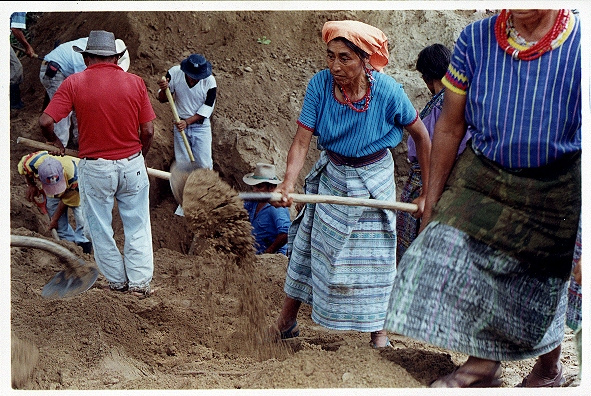 Remains Of 99 People Found In Guatemalan Mass Graves