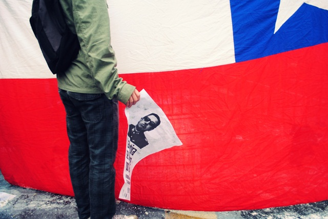 Hundreds Protest Pro-Pinochet Film In Chile