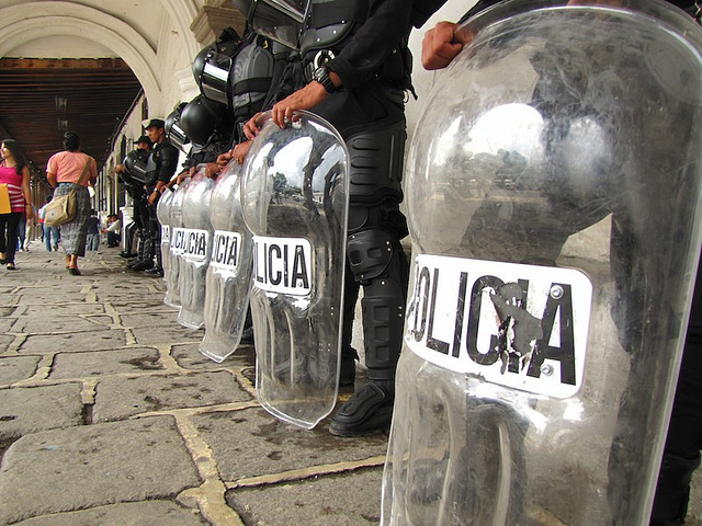 50 People Injured In Guatemalan Student Protests