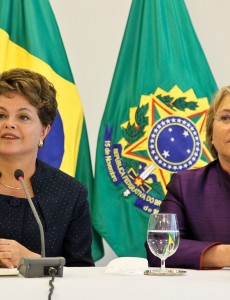 Brazilian President Dilma Rousseff (left) and Chilean President Michelle Bachelet in 2011. (Dilma Rousseff, CC BY-SA 2.0)