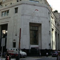 ​Citibank's Buenos Aires headquarters, which were inspected Monday by government regulators. (Elsapucai, public domain)