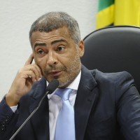 Former Brazilian football striker and current Senator Romário, who called for a local investigation into corruption at the country's soccer institutions. (Image: Comissão de Educação, Cultura e Esporte)