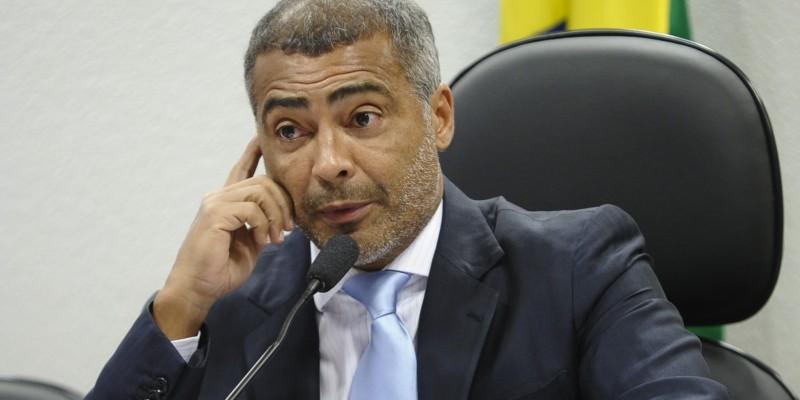 Former Brazilian football striker and current Senator Romário, who called for a local investigation into corruption at the country's soccer institutions. (Image: Comissão de Educação, Cultura e Esporte)
