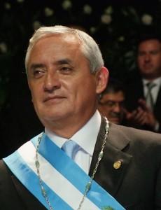 (Guatemalan President Otto Pérez Molina, Government of Guatemala)