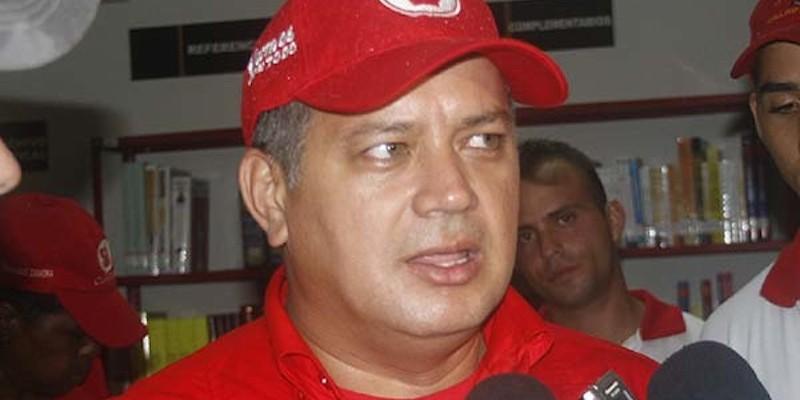 (Diosdado Cabello speaking, Rafaelsigala12, CC BY SA 4.0)