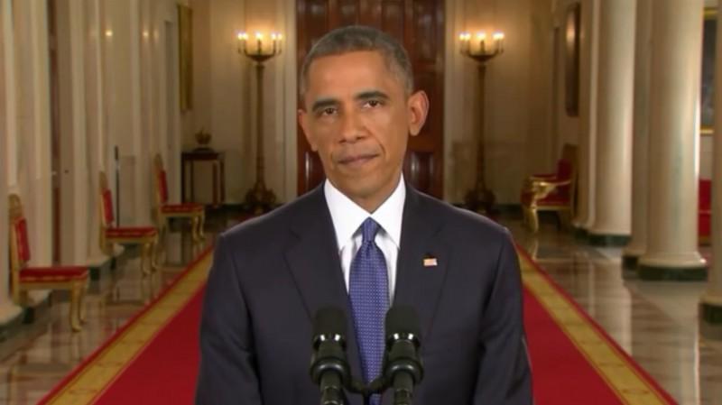 President Barack Obama announces sweeping immigration reform last November. (Image: YouTube, screenshot)