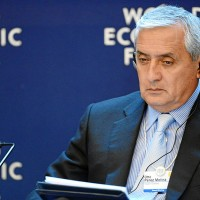 Guatemalan President Otto Pérez Molina, seen here at the 2013 World Economic Forum. (Image: Michael Wuertenberg, CC BY-SA 2.0)