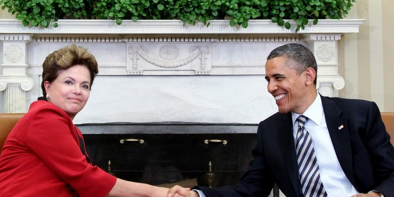 Obama and Rousseff in 2012. (Image: Roberto Stuckert Filho, CC BY 3.0 BR)