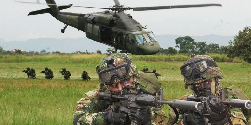 The Colombian military. (Image: Mrnico1092, CC BY-SA 3.0)