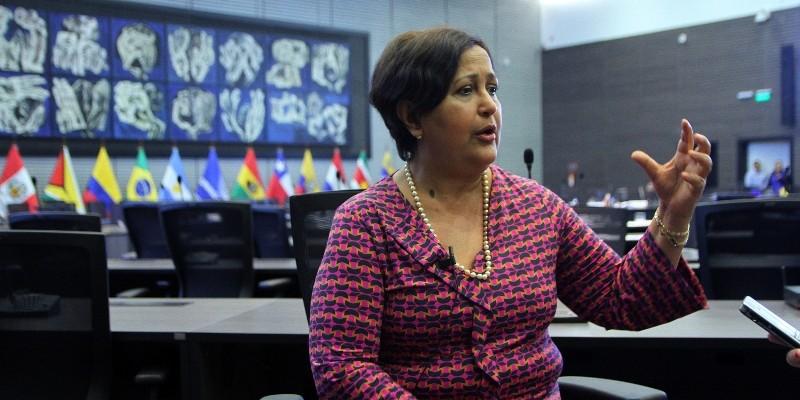 Tibisay Lucena, President of Venezuela's National Electoral Council (CNE). (Image: Agencia de Notícias ANDES, CC BY-SA 2.0)