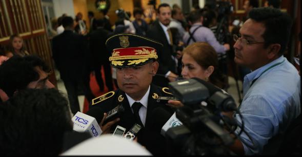 El Salvador's National Civil Police Director Mauricio Ramírez Lavaverde. (Image: Government of El Salvador)