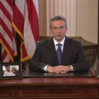 Puerto Rican Gov. Alejandro García Padilla speaks about the U.S. commonwealth's economic crisis in a televised address to the public. (Image: La Fortaleza, public domain)
