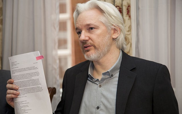 Wikileaks Editor-in-Chief Julian Assange. (Image: Government of Ecuador, CC BY-SA 2.0)