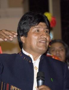Bolivian President Evo Morales. (Image: Sebastian Baryli, CC BY 2.0)