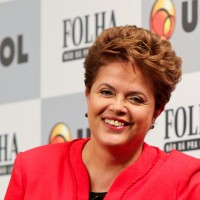 Brazilian President Dilma Rousseff at a 2010 debate organized by newspaper Folha de São Paulo. (Image: Roberto Stuckert Filho, CC BY-SA 2.0)