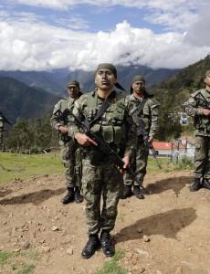 Peruvian troops in the VRAEM region. (Image: Ministry of Defense of Peru, CC BY 2.0)