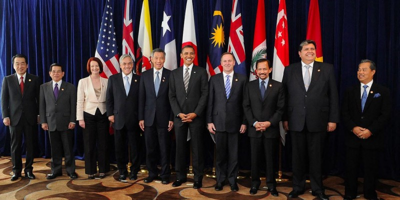 Trans-Pacific Partnership member state leaders during a 2010 meeting. (Image: Chilean Government, Public Domain.)