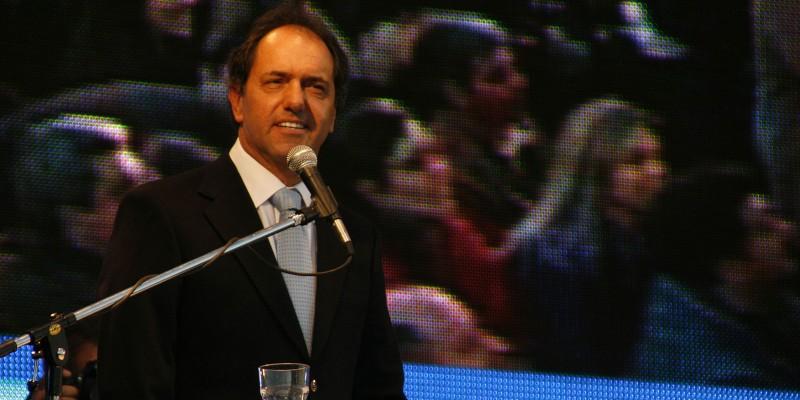 Argentine presidential favorite Daniel Scioli. (Image: Mariano Pernicone, CC BY 2.0)