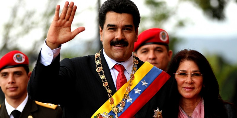 President Nicolás Maduro and First Lady Cilia Flores (Image: Agencia de Noticias ANDES, CC BY 2.0)