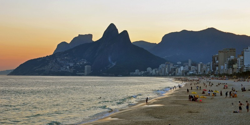 Ipanema in Rio de Janeiro. (Image: Chenyisyuan, CC BY SA 4.0)