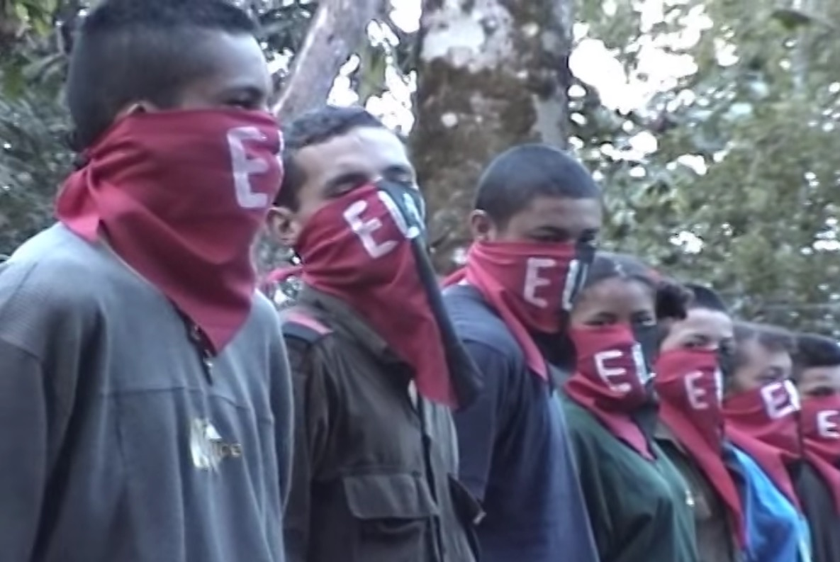 The ELN, or National Liberation Army, is Colombia's second-largest guerrilla group. (Image: Image: Youtube)