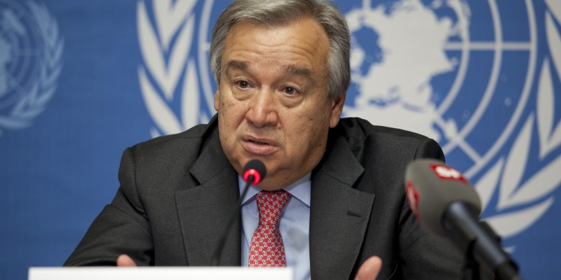 U.N High Commissioner for Human Rights António Guterres. (Image:  U.S. Government, Public Domain)